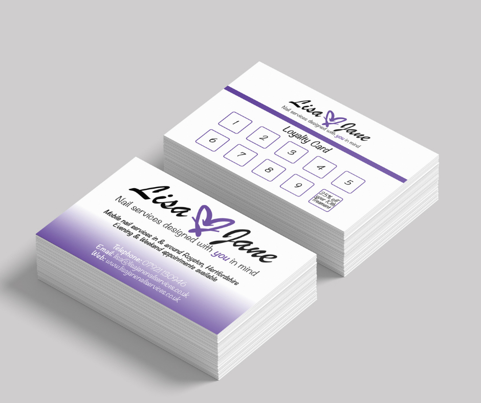 Lisa Jane business cards