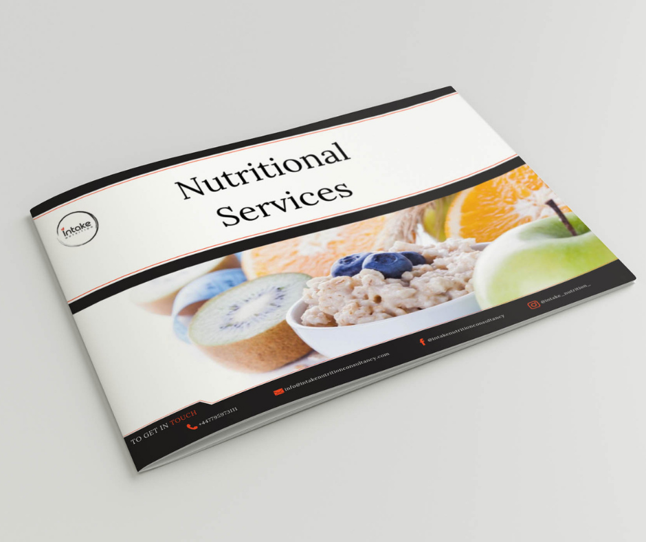 Nutritional Services booklet